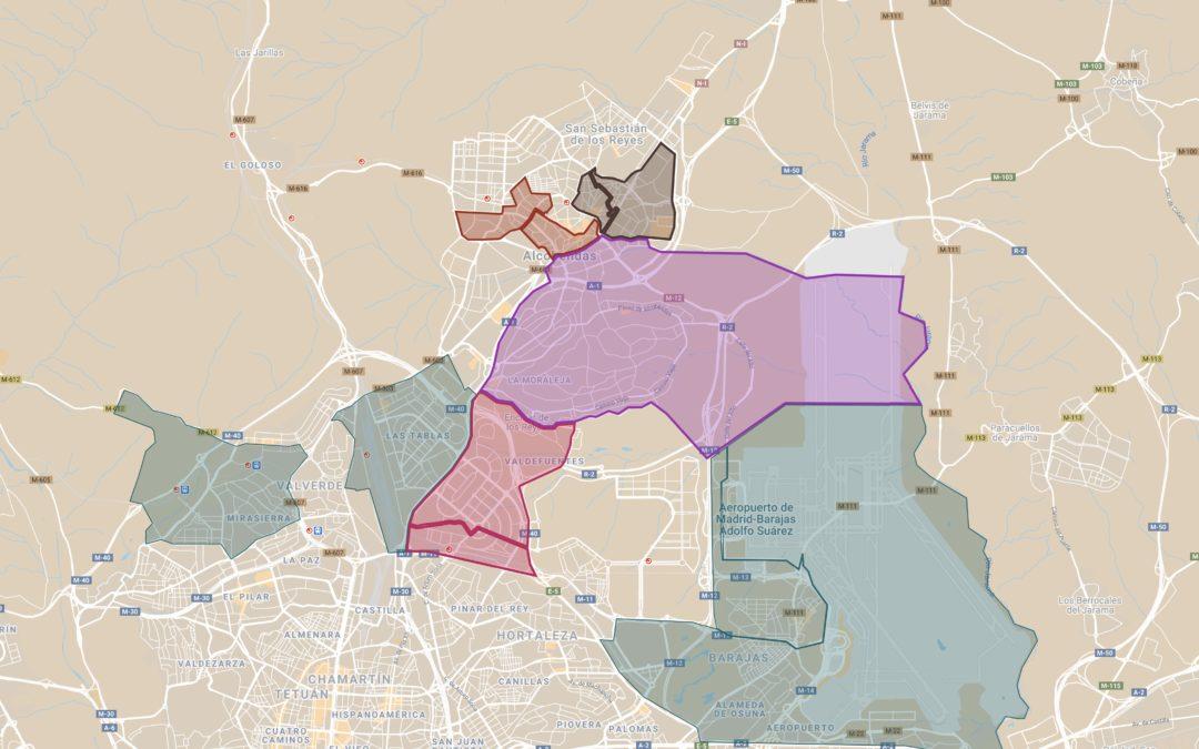 Confinamiento Perimetral de la zona Básica de salud de las tablas.
